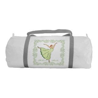 Graceful Ballerina Gym Duffel Bag