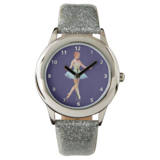 Graceful Ballerina with Red Hair Watch