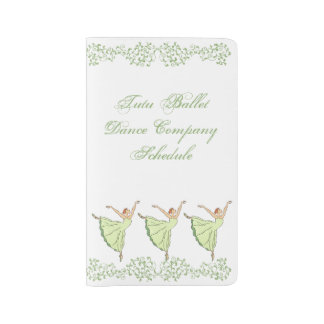 Graceful Ballerinas Dance Large Moleskine Notebook