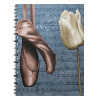 Graceful Dance Spiral Note Book