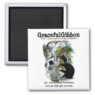 Graceful Gibbon Magnet