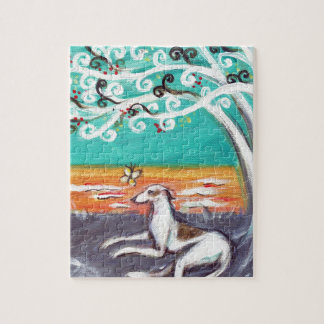 Graceful Greyhound Jigsaw Puzzle