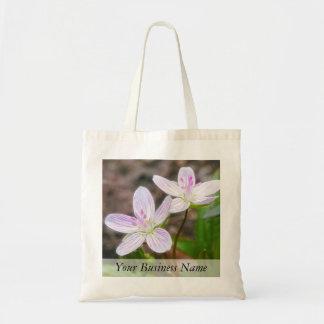 Graceful Spring Beauty Flowers Tote Bag
