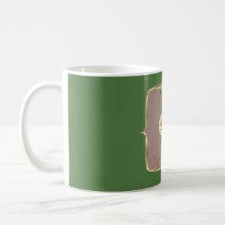 Graceful Vintage Flower Coffee Mug