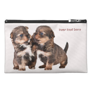 Graceful Yorkshire Puppies Travel Accessory Bag