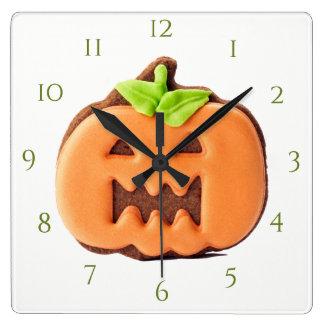 Gracefull Orange Pumpkin Clocks