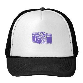 Graception Purple Vintage Camera Cap