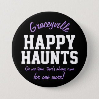 Graceyville Happy Haunts 7.5 Cm Round Badge