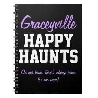 Graceyville Happy Haunts Notebook