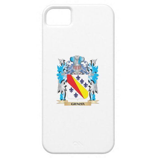 Gracia Coat of Arms - Family Crest Cover For iPhone 5/5S