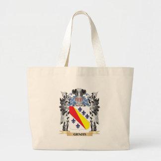 Gracia Coat of Arms - Family Crest Jumbo Tote Bag