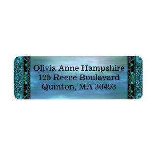 Gracia  Donyelle Horizon Return Address Label