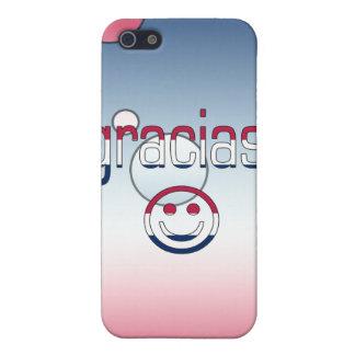 Gracias America Flag Colors Pop Art iPhone 5 Case