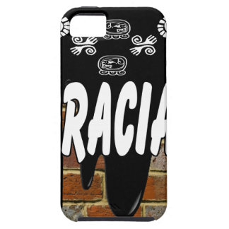 GRACIAS BRICK BACKGROUND PRODUCTS iPhone 5 CASE