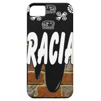 GRACIAS BRICK BACKGROUND PRODUCTS iPhone 5 COVER
