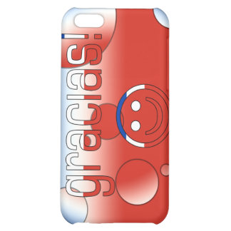 Gracias Chile Flag Colors Pop Art Case For iPhone 5C