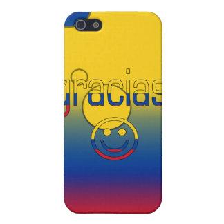 Gracias Colombia Flag Colors Pop Art iPhone 5 Cases