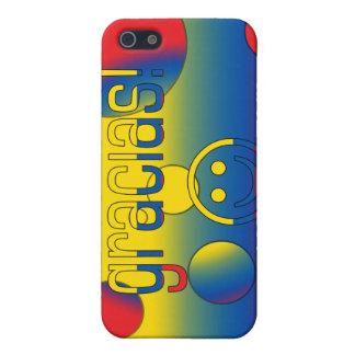 Gracias Ecuador Flag Colors Pop Art Case For iPhone 5
