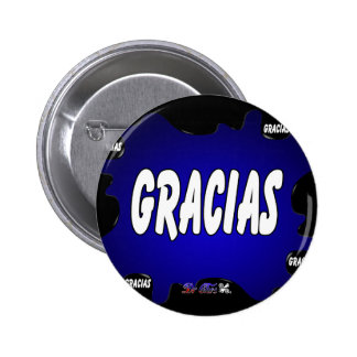 GRACIAS GIFTS CUSTOMIZABLE PRODUCTS PINBACK BUTTON