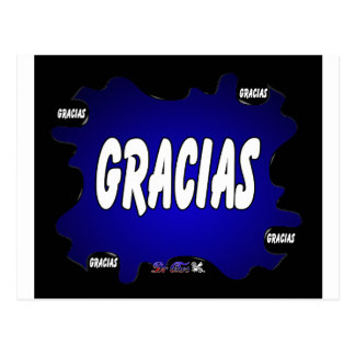 GRACIAS GIFTS CUSTOMIZABLE PRODUCTS POSTCARD