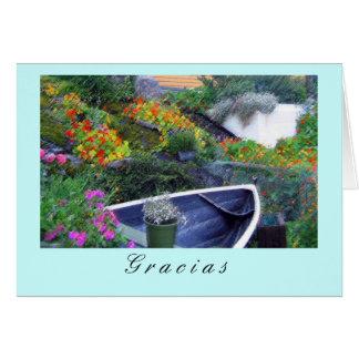 """""""Gracias"""" Greeting Card"""
