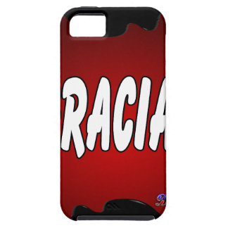 GRACIAS RED BACKGROUND PRODUCTS iPhone 5 CASE