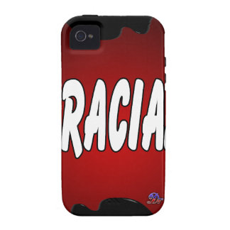 GRACIAS RED BACKGROUND PRODUCTS Case-Mate iPhone 4 COVERS