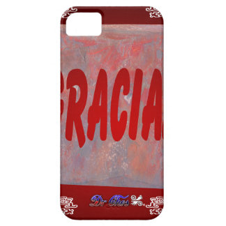 GRACIAS RED CUSTOMIZABLE PRODUCTS BARELY THERE iPhone 5 CASE