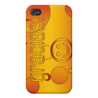 Gracias Spain Flag Colors Pop Art iPhone 4 Covers
