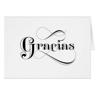 Gracias Spanish Thank You Cards