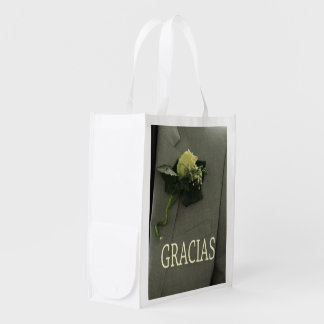Gracias spanish wedding favor