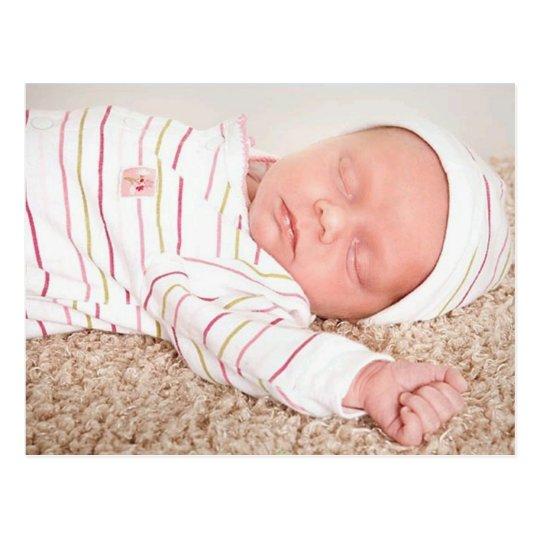 Gracie Anne Birth Announcement Postcard