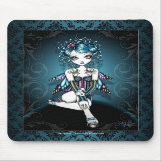 """Gracie"" Gothic Couture Swallow Fairy Mousepad"