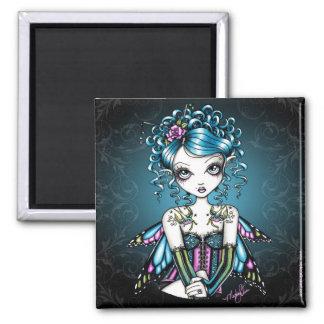 """Gracie"" Swallow Tattoo Fairy Art Magnet"