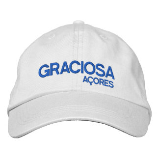 Graciosa* Açores Personalized Hat Embroidered Hat