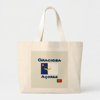 Graciosa Azores Custom Tote Bag