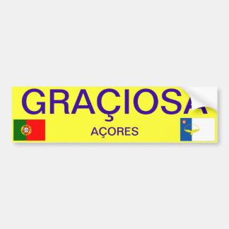 Graciosa* Bumper Sticker