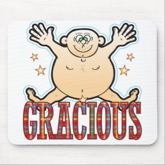 Gracious Fat Man Mouse Pad