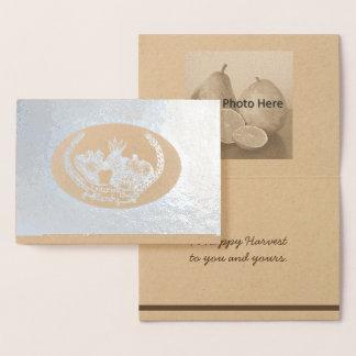 Gracious Plenty Harvest Home Mabon Foil Card