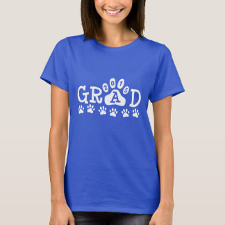 GRAD 2015 PAWS - Cute Graduation T-Shirt