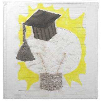 Grad Bulb Cloth Napkins