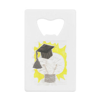 Grad Bulb Credit Card Bottle Opener