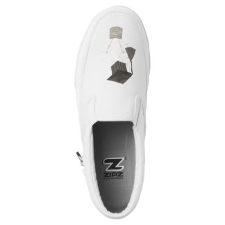Grad Bulb Men's Slip On Shoes Printed Shoes
