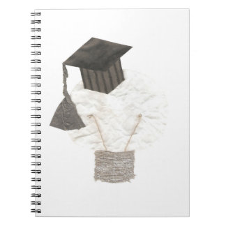 Grad Bulb No Background Notebook