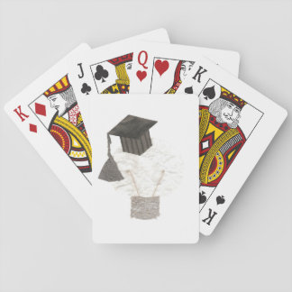 Grad Bulb No Background Playing Cards