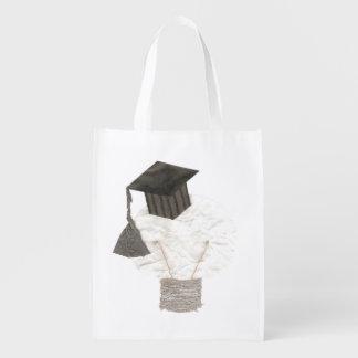 Grad Bulb No Background Reusable Bag