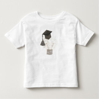 Grad Bulb No Background Toddler T-Shirt