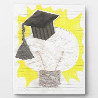 Grad Bulb on an Easel Plaque