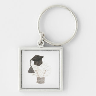 Grad Bulb Premium Keyring
