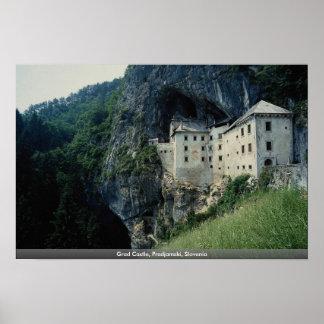 Grad Castle, Predjamski, Slovenia Poster